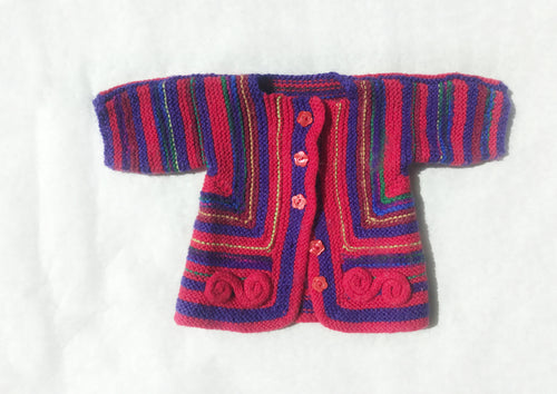 Vintage Cardigan - Fauves Kids