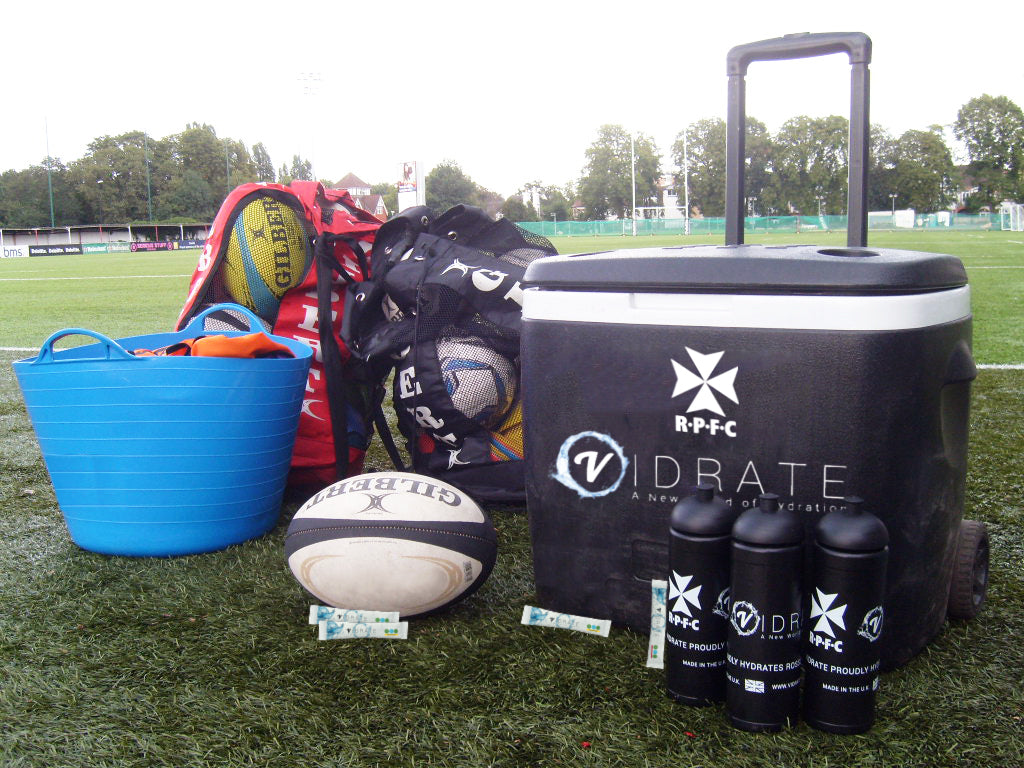 ViDrate partner with Rosslyn Park FC for 2019/20 Season