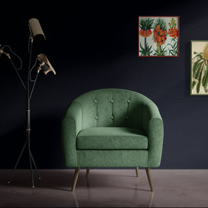 Deep Green Occasional Chair