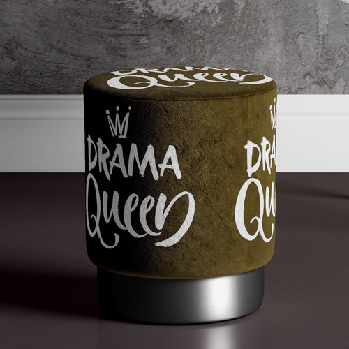Large Drama Queen Pouffe