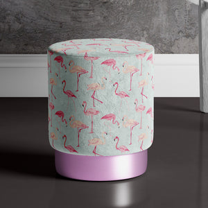 Large Pink Flamingo Pouffe