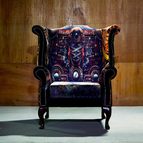 Retro Accent Chair
