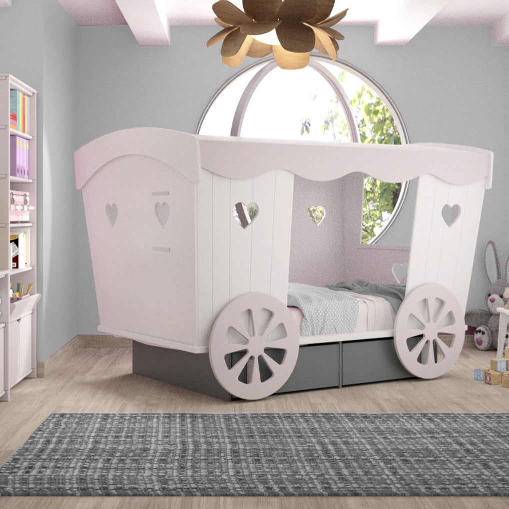 Carriage Bed by Mathy by Bols