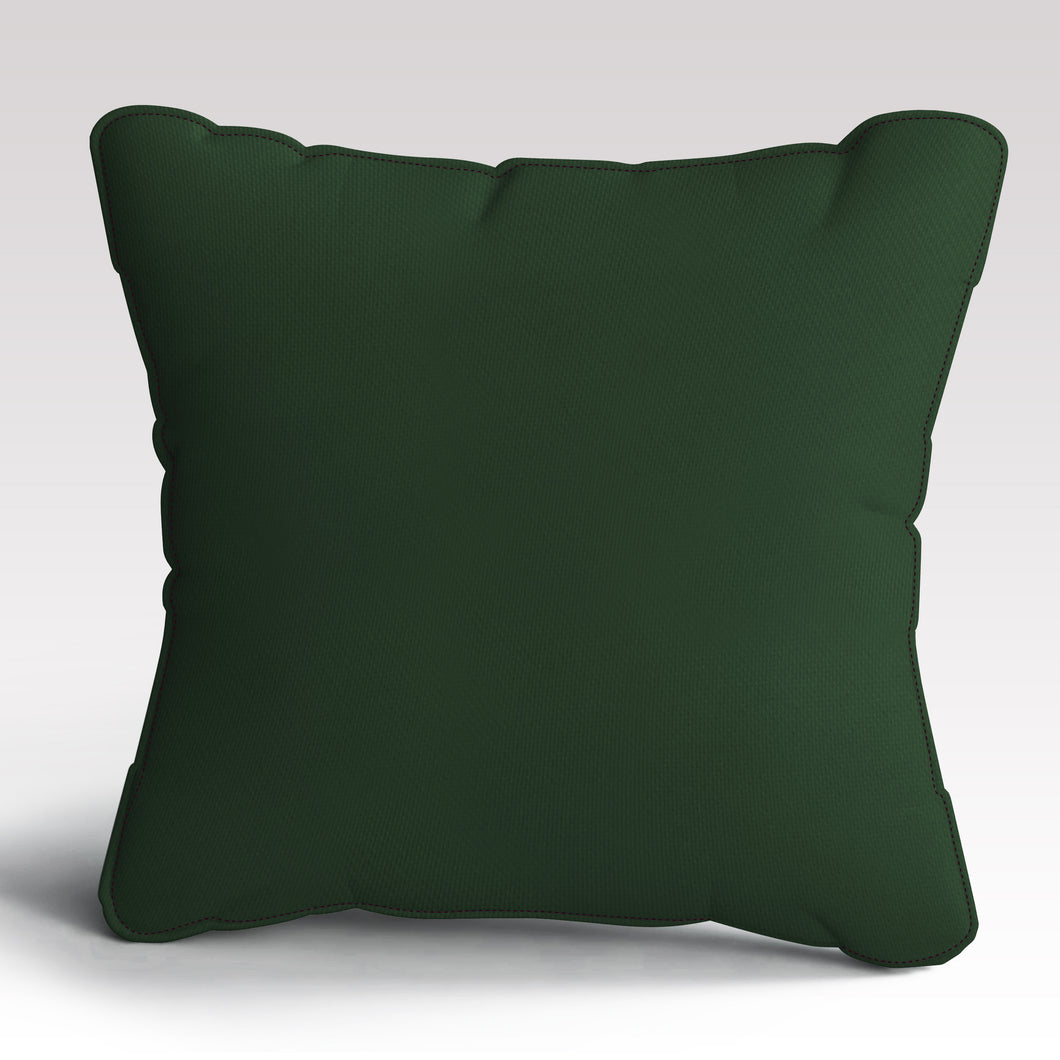 Deep Green Cushion