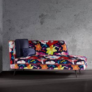 Bright Floral Chaise