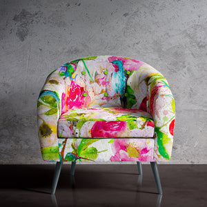 Floral Print Occasional Chair