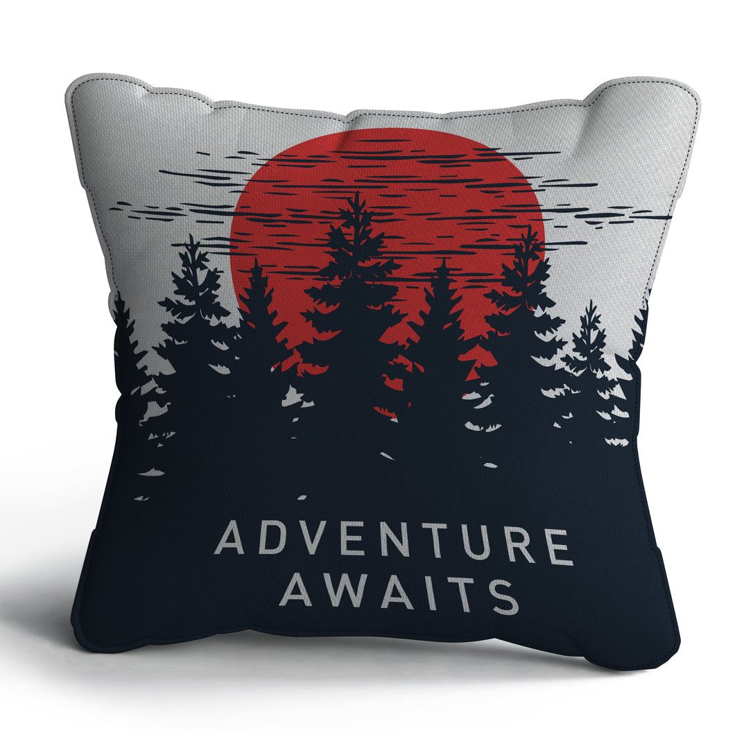 Adventure Print Cushion