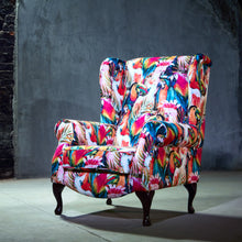 Tropical Parrot Accent Chair