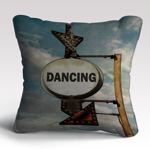 Dancing Print Cushion