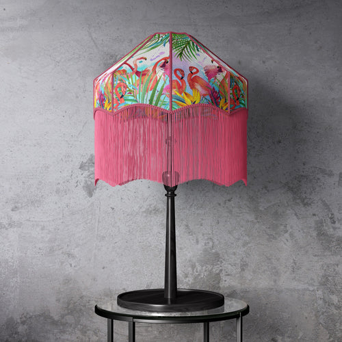 Flamingo Print Lampshade
