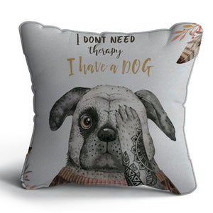 Dog Print Cushion
