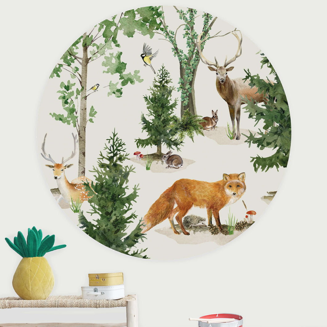 Forest Life Wallpaper Circle