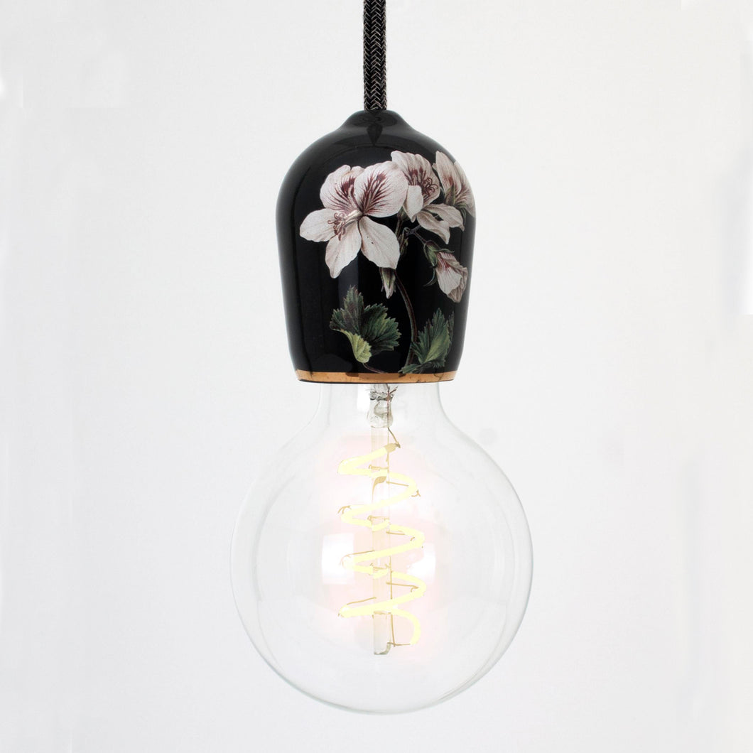floral light pendant
