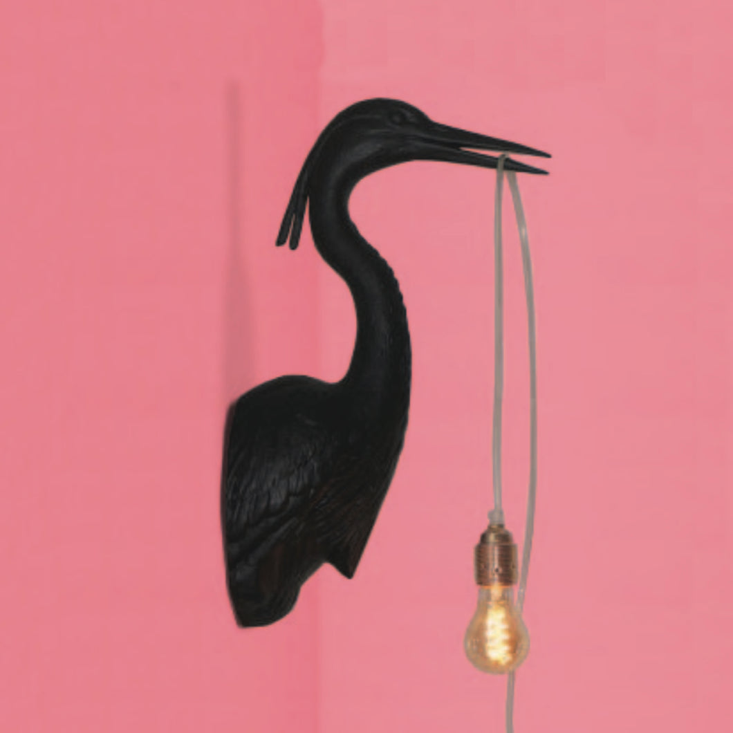heron wall light