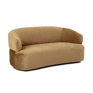 Pols Potten Brown Curved Sofa