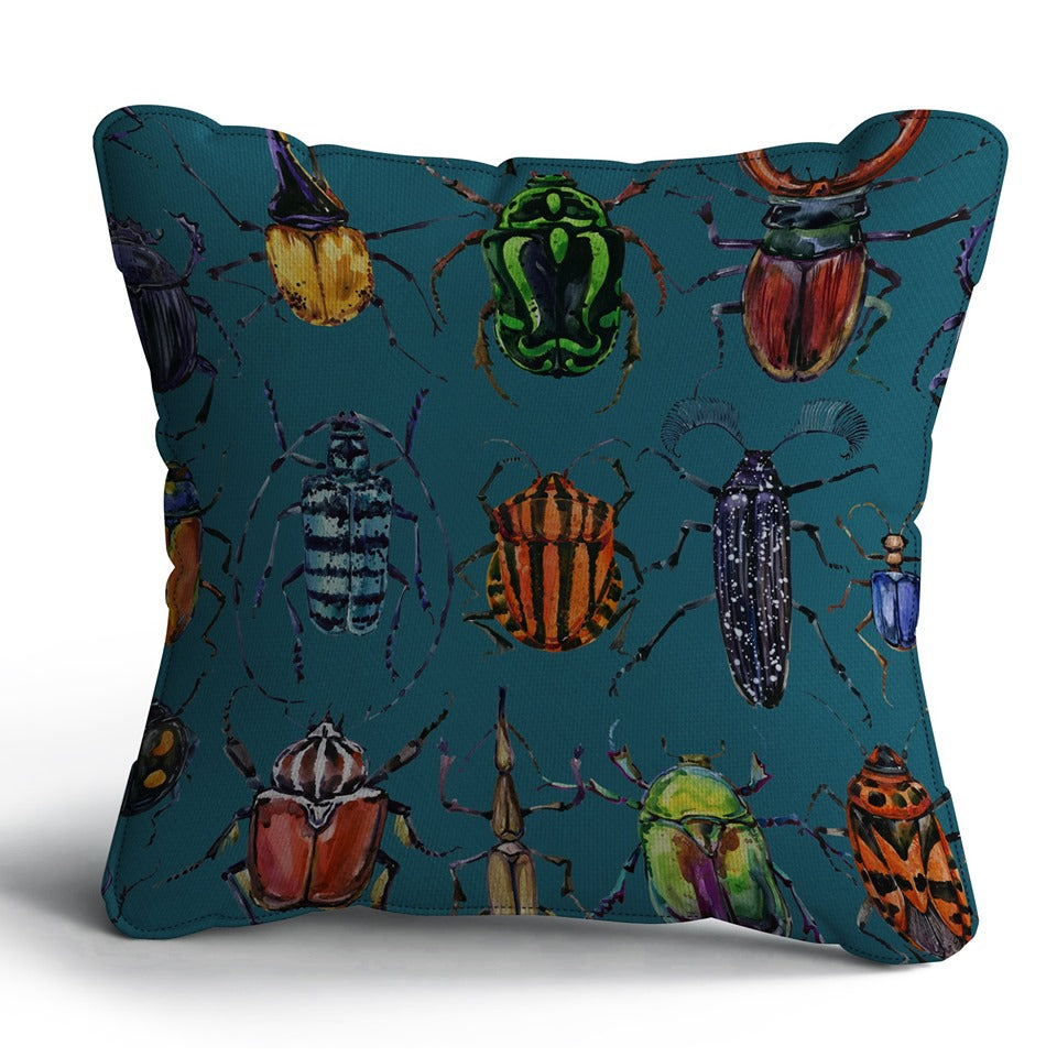 Bug Print Cushion