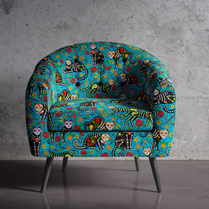Calavera Cats Occasional Chair