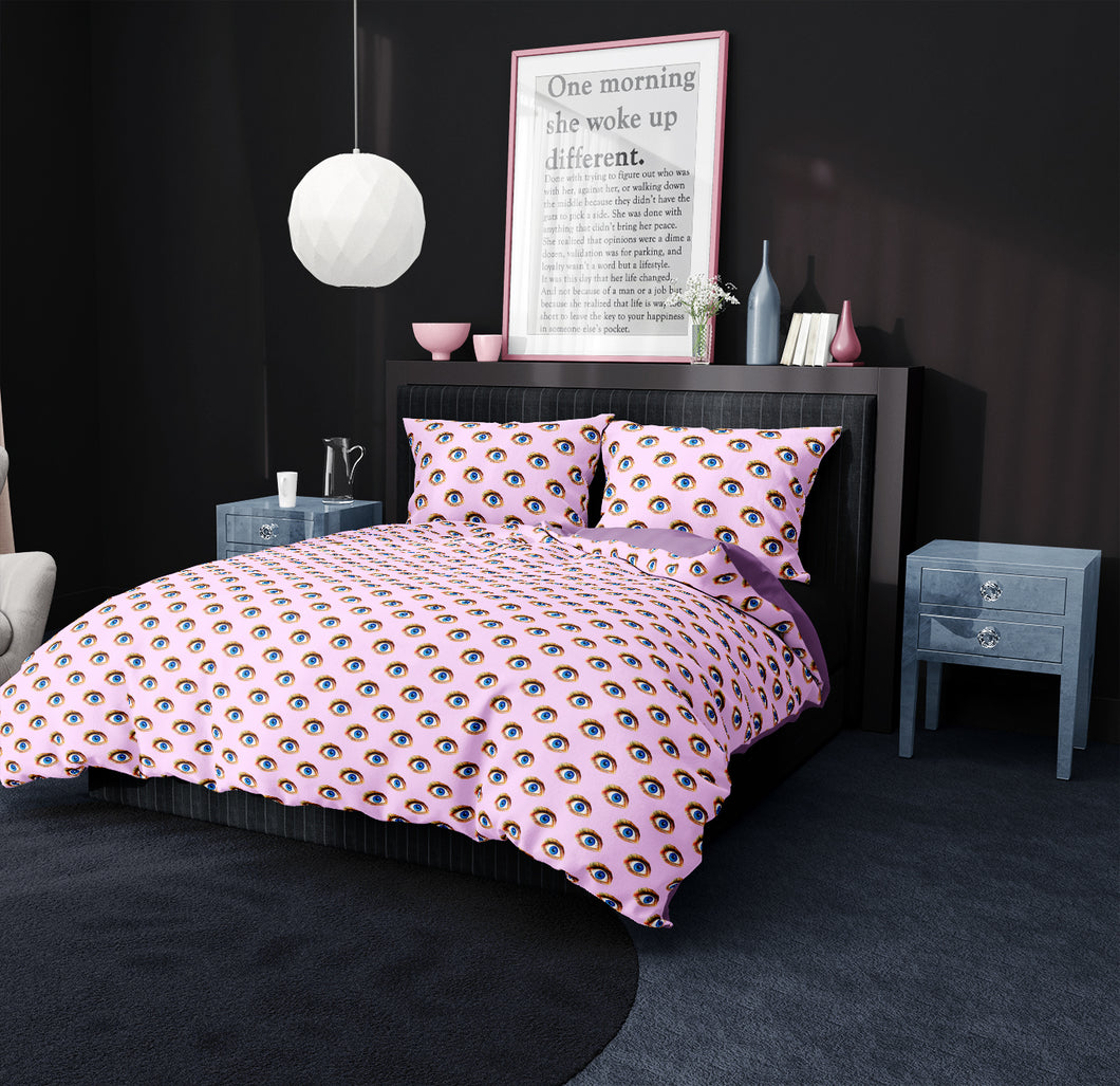 Eye Bedding in Pink