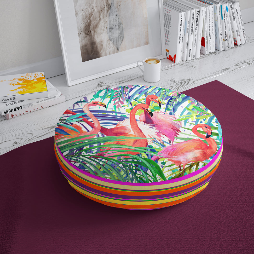 Flamingo Floor Cushion