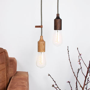 wooden light shades