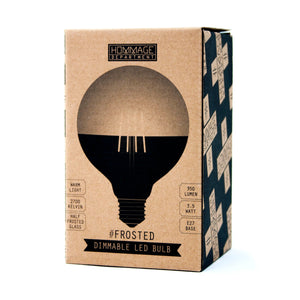frosted lightbulb