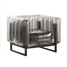 Metal Framed Inflatable Chair