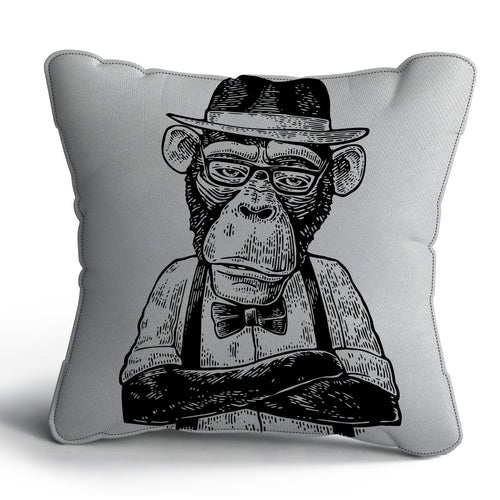 Gorilla Print Cushion