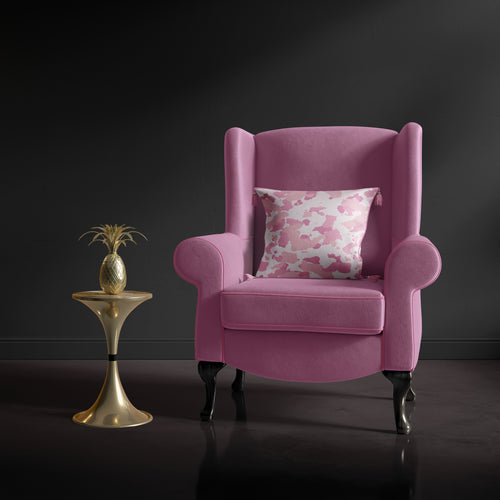 Bright Pink Accent Chair