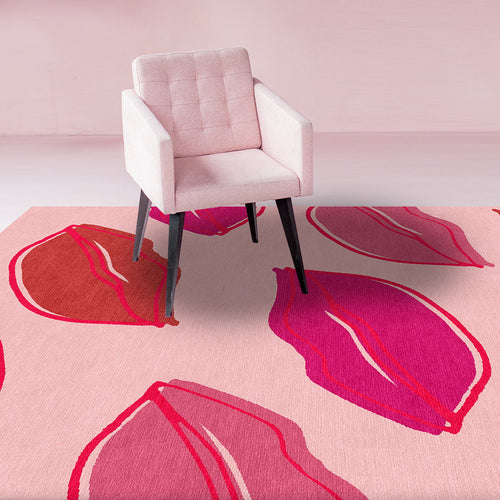 Lip Rug by Isobel Morris