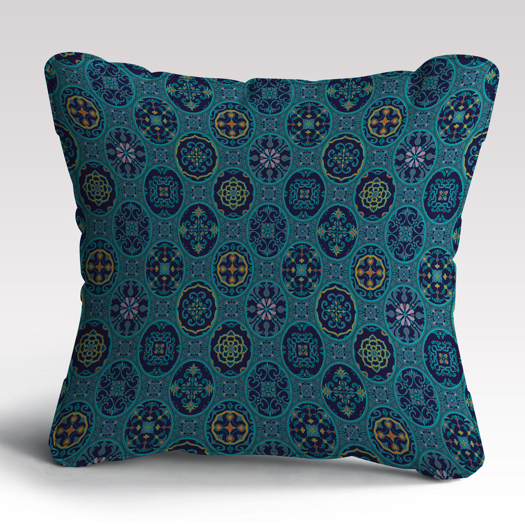 Spanish Print Cushion