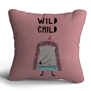 Wild Child Print Cushion
