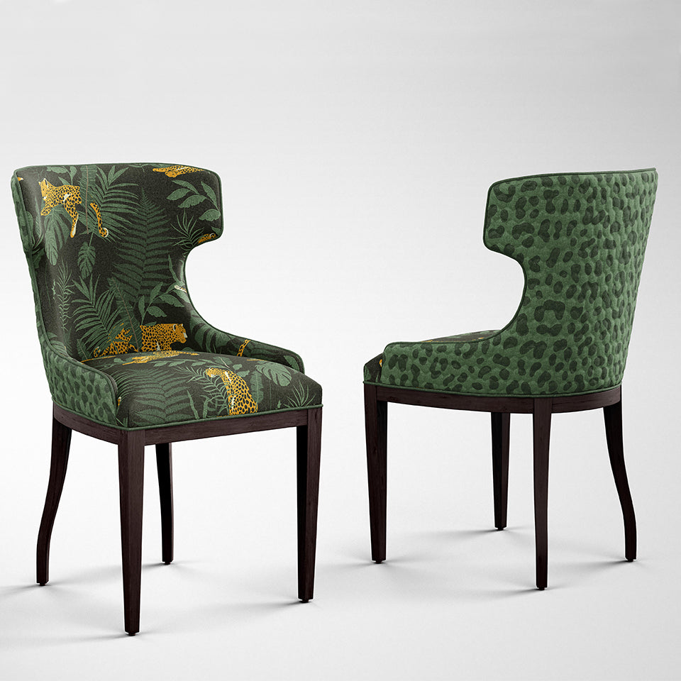 Jungle Print Dining Chair