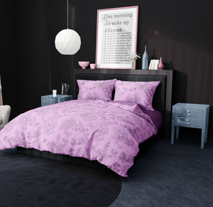 Ladies that Lunch Bedding in Purple