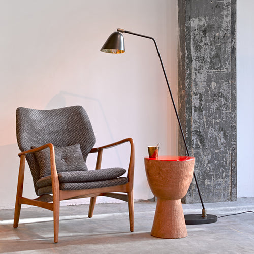 Pols Potten Grey Scandi Style Chair