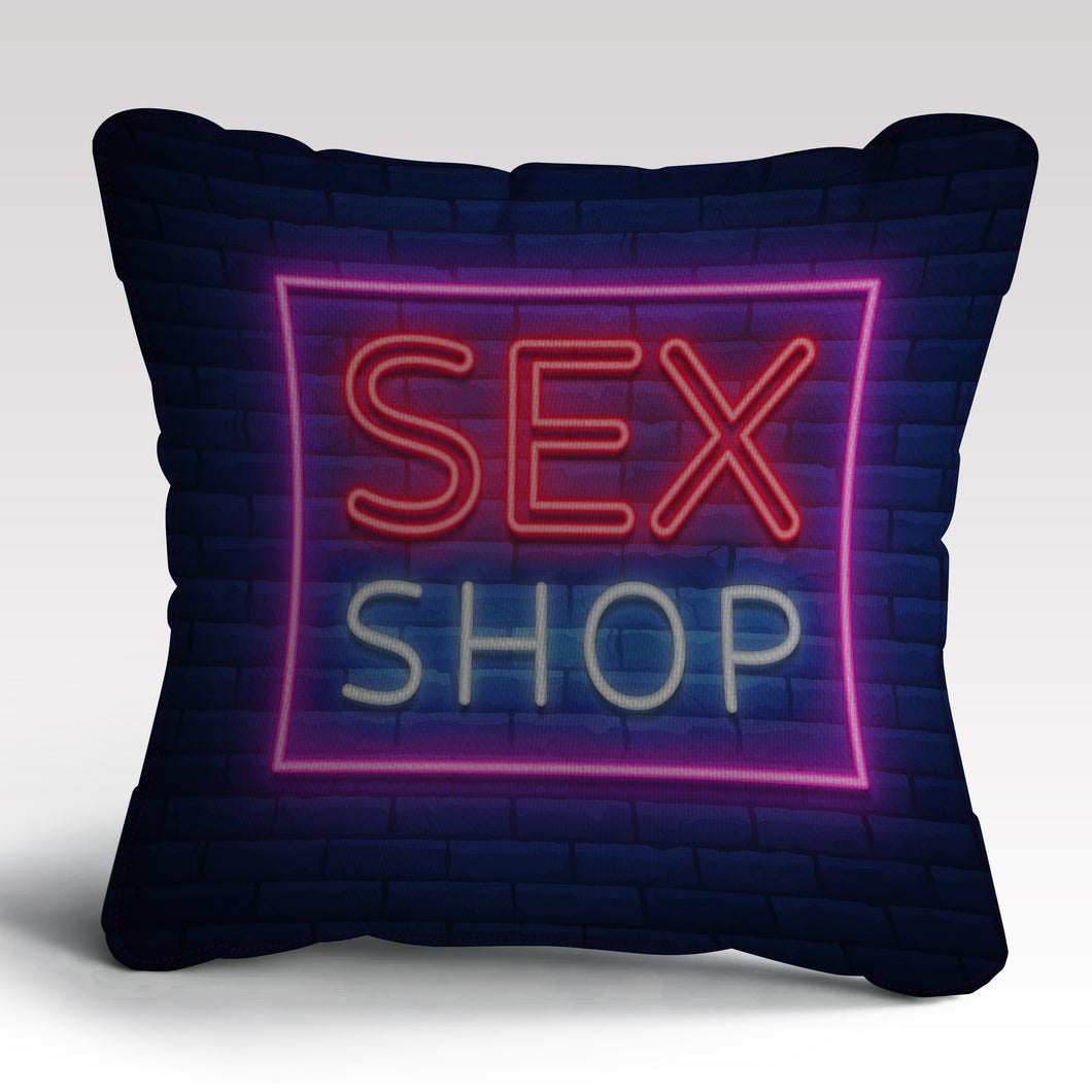 Sex Shop Cushion