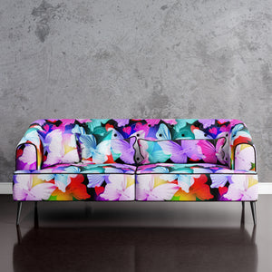 Butterfly Print Sofa
