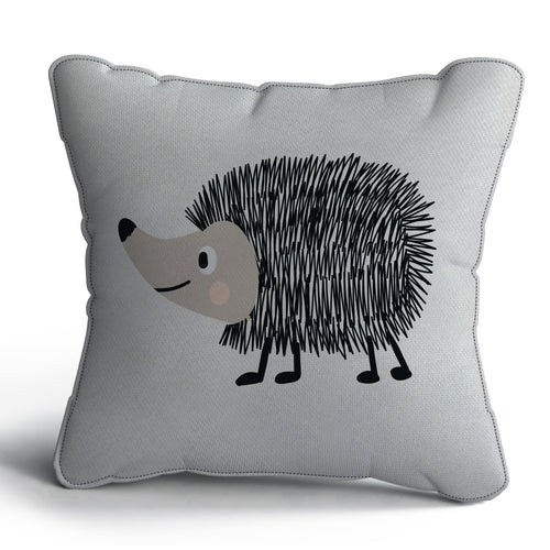 Hedgehog Print Cushion