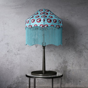 Diamond Print Lampshade