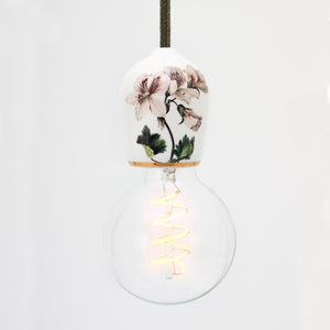 white porcelain light