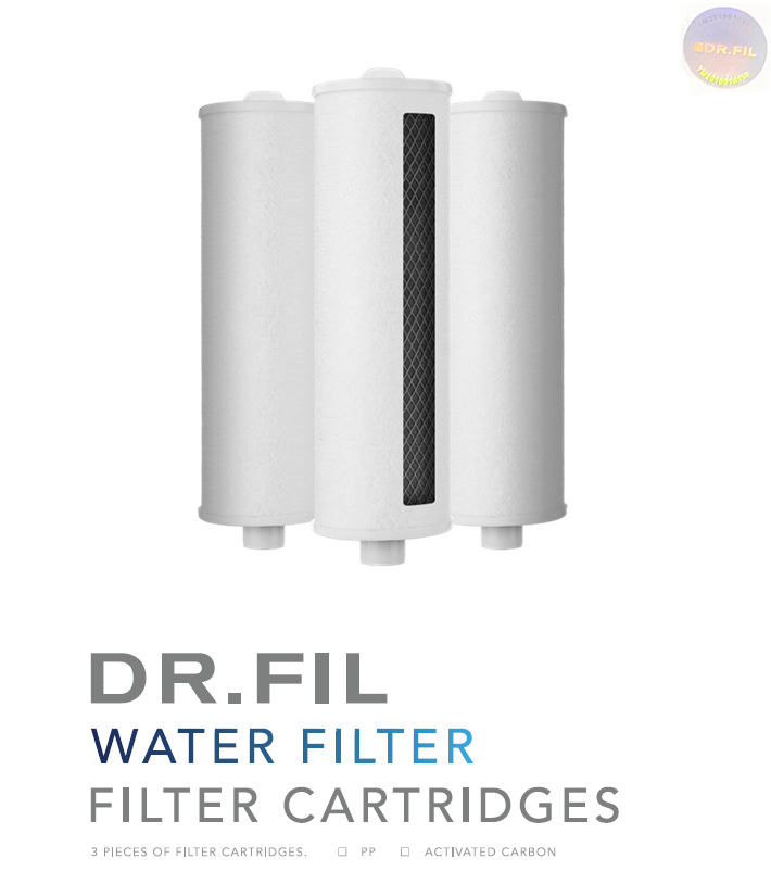 Activated Carbon Filter Cartridges ( x3ps )