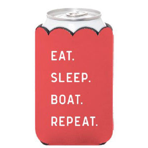 EAT SLEEP BOAT REPEAT Can Cover