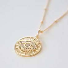 Load image into Gallery viewer, Evil Eye Medallion