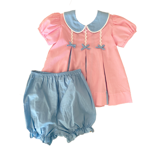 Lullaby Set Belle Rose Bloomer/Short Set