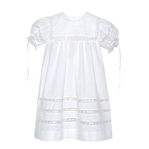 Lullaby Set Heirloom Elle Dress- White