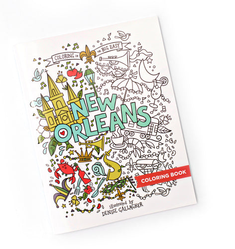 NOLA Coloring Book