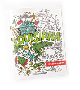 Louisiana Coloring Book