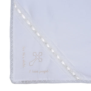 Lullaby Set Heirloom Blanket- Cross