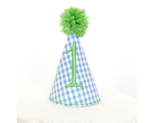 Load image into Gallery viewer, Party Hat Cake Topper