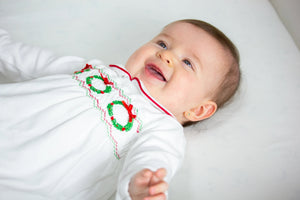 Christmas Baby Footie