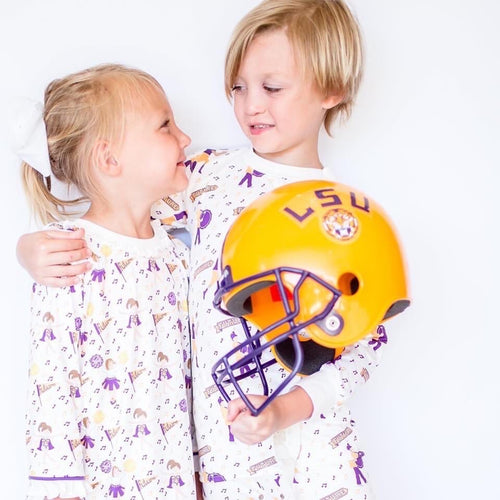 LSU Loungewear- Pants Set